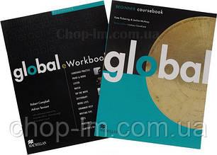 Global Beginner Student's Book with eWorkbook Pack (учебник + диск с онлайн рабочей тетрадью, уровень A1)