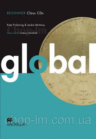 Global Beginner Class Audio CDs (аудио диск, уровень A1), фото 2