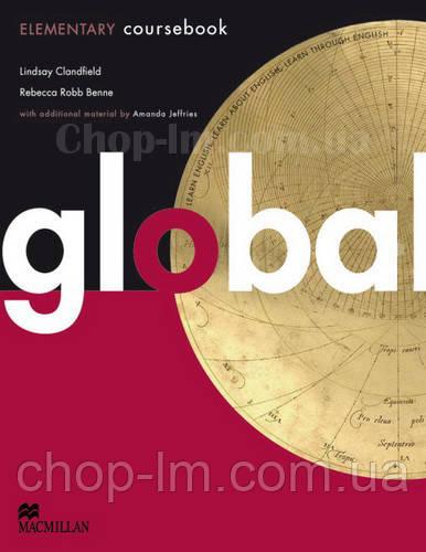 Global Elementary Student's Book (учебник по английскому языку, уровень A2)