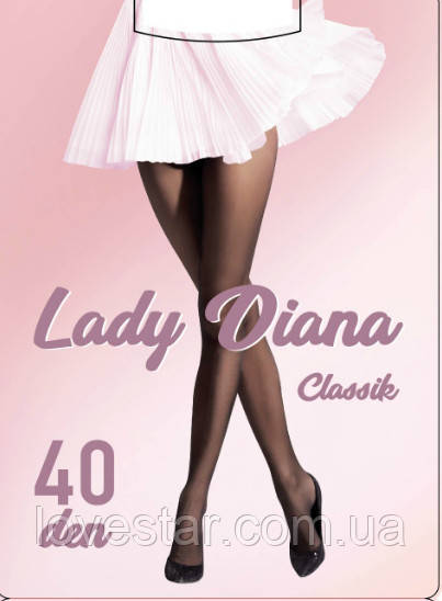 «Lady Diana»  40 Den 5 Antracite