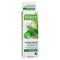 Alterra Tagescreme Bio-Aloe Vera & Gletscherwasser - Дневной крем для лица (Алоэ Вера и ледниковая вода)