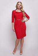 Платье Файна красное р 50-56