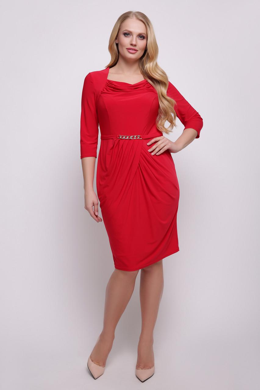 86fc33102 Платье Файна красное р 50-56, цена 420 грн., купить в Харькове ...