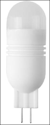 Лампа светодиодная ROI G4S -12V, 2.5w, 250lm, 3000/4100k, G4