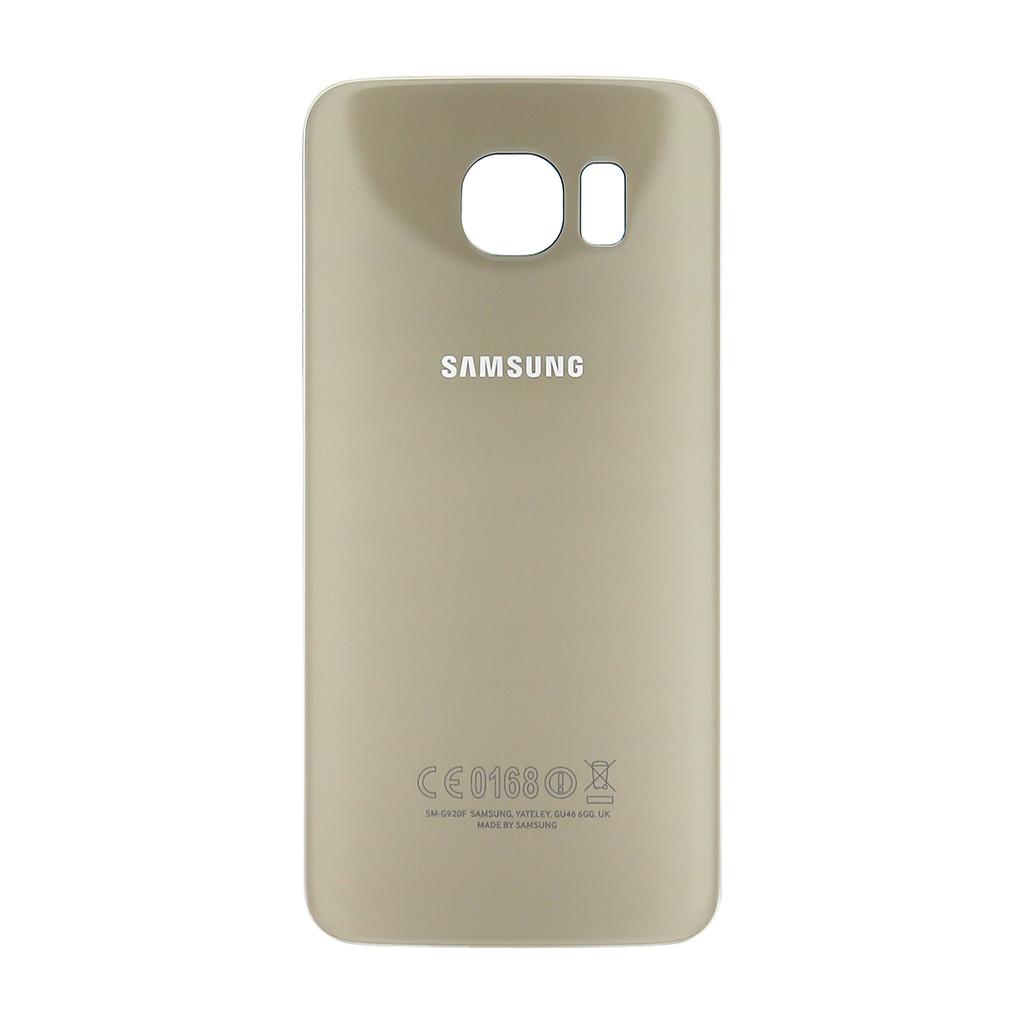Задняя крышка Samsung G925F Galaxy S6 EDGE gold