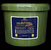 Пеллетс Carpio Hi-Attract Halibut+Krill, 20мм, 7кг