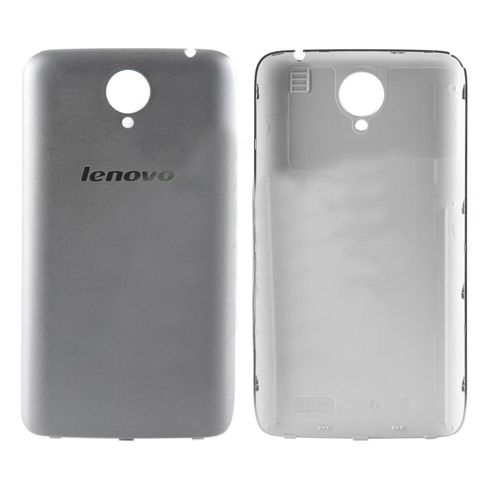 Задняя крышка Lenovo S650 silver