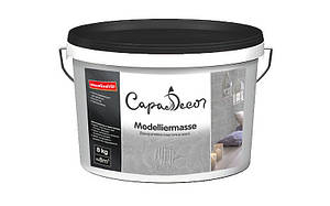 Capadecor Modelliermasse  дисперсионная пластичная масса для структурных покрытий и тонкой шпаклевки.