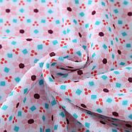 Комплект для девочки 3 в 1 Цветочный узор Berni, фото 2