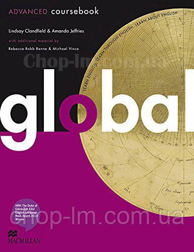 Global Advanced Student's Book with eWorkbook Pack (учебник + диск с онлайн рабочей тетрадью C1)