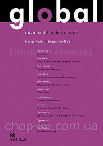 Global Advanced Teacher's Book + Resource CD Pack (книга для учителя с аудио материалами, уровень C1)