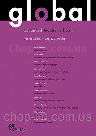 Global Advanced Teacher's Book + Resource CD Pack (книга для учителя с аудио материалами, уровень C1), фото 2