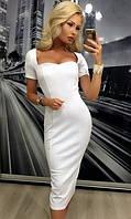 Платье Белое Зима 42-44,44-46