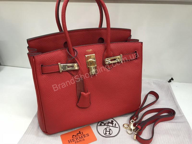 118a6e4c0488 Сумочка (сумка ) Hermes Birkin 30см из телячьей кожи в красном цвете 1696 -  Trendshops