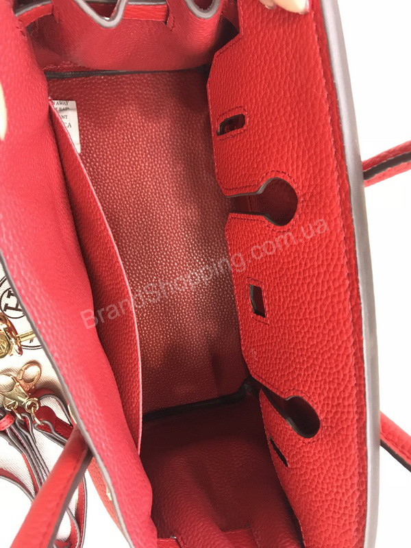 cbe1b09c79dd Сумочка (сумка ) Hermes Birkin 30см из телячьей кожи в красном цвете 1696,  цена 3 300 грн., купить в Харькове — Prom.ua (ID#690462994)