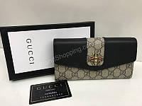 Кошелек из натуральной кожи Gucci в подарочной коробке 1693, фото 1