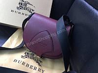 Женская сумочка Burberry Lux из натуральной кожи в брендовой коробке цвет марсала 1699, фото 1