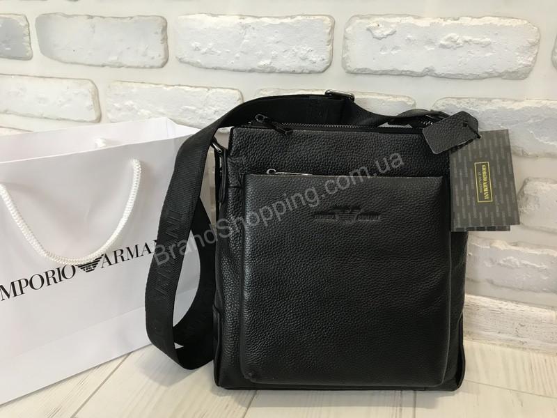58a800917f28 Мужская сумочка (сумка ) Giorgio Armani из натуральной кожи 1703 ...