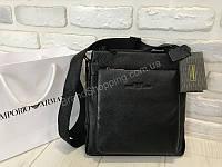 Мужская сумочка Giorgio Armani из натуральной кожи 1703, фото 1