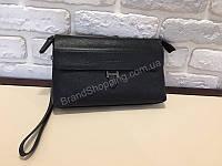 Мужская сумка -клатч Prada из натуральной кожи 1709, фото 1