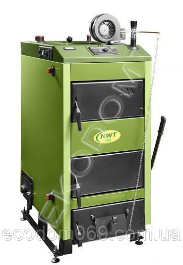 Универсальный твердотопливный котел SAS NWT 36 кВт (Польша)