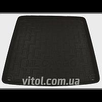 Коврики автомобильные в багажник WT09-X204 Bk черный, резиновый, коврики для салона авто, коврики резиновые авто, коврики, ковры автомобильные