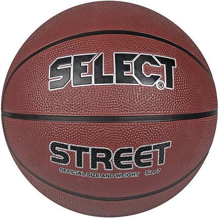 Мяч баскетбольный SELECT Basket Street №6, фото 2