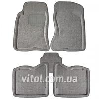 Коврики 3D текстильные с бортами для авто Great Wall 3D GY серый, коврики для салона авто, коврики резиновые авто, ковры автомобильные, автоаксессуары