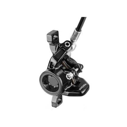 Brake caliper MT2 black, two piece, with brake pads, фото 2