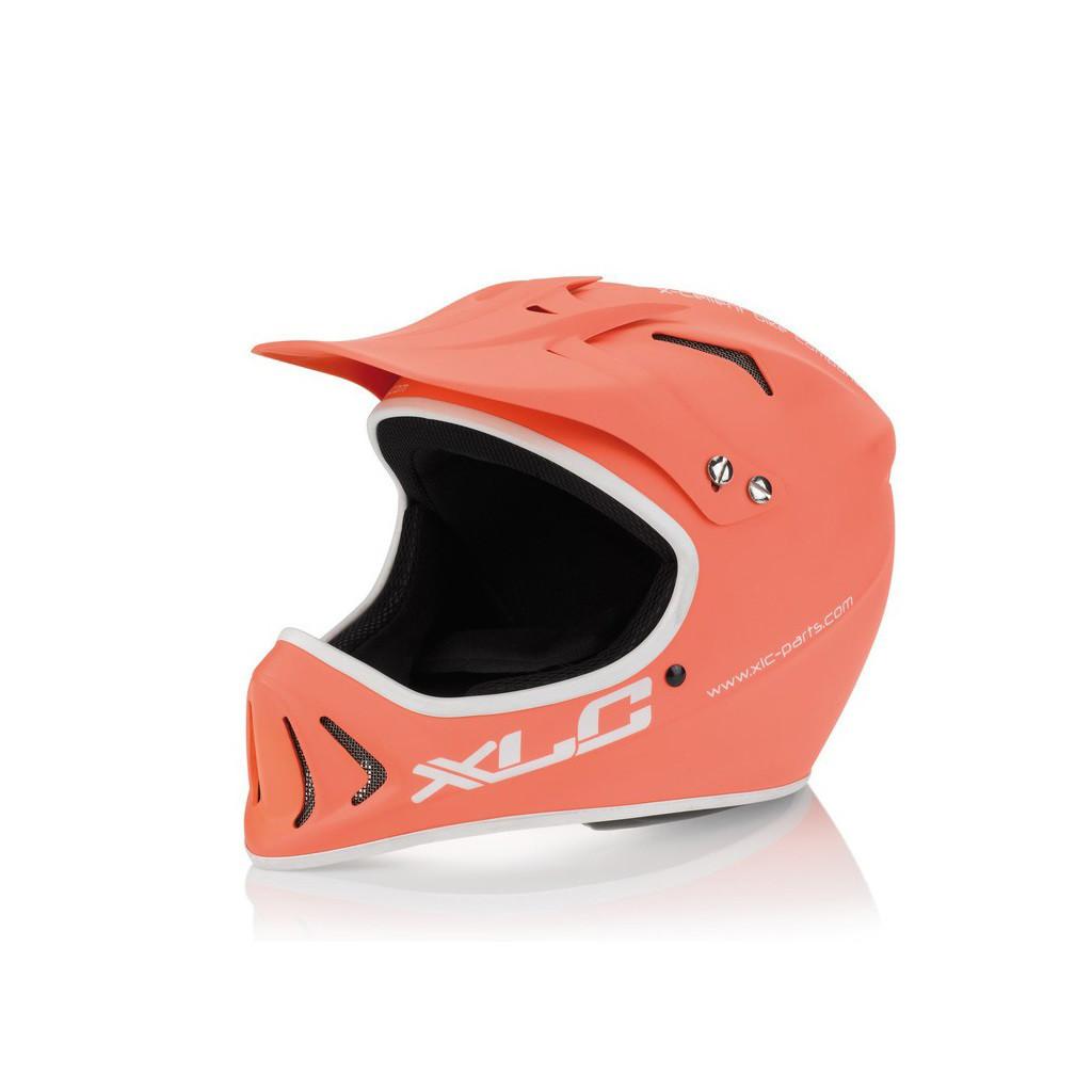 Шлем XLC Full Face, оранжевый, L/XL (58-60)
