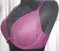Сексуальный бюстгальтер/лифчик LASCANA с кружевом (85С), цвет марсала (можно комплект)