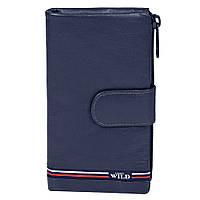 Женский кожаный кошелек Always Wild N502-GV Blue, фото 1