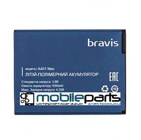 Оригинальный аккумулятор АКБ (Батарея) Bravis A401 Neo (3.8V 1650mAh)