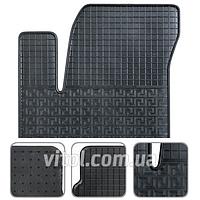 Коврики автомобильные универсальные 84654 P/A Hyundai Accent (2010), Kia Rio II (2011), в упаковке 4 шт, коврики для авто, коврики в автомобиль,