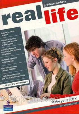 Real Life Pre-Intermediate Teacher's Handbook (книга для учителя)