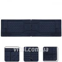 Коврики автомобильные 53211 P/A Auni Twin, 2-й, 3-й ряд сидений, размер: 1460х430 мм, Clasic, в упаковке 2 шт, коврик для авто, автоаксессуары,