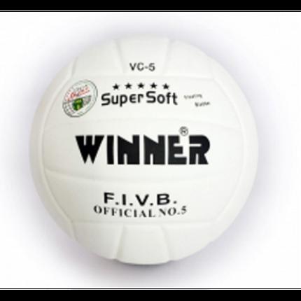Мяч в/б Winner SUPER SOFT VS-5 белый, фото 2