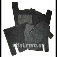 Коврик автомобильный Украина Daewoo Nexia, войлок, черный, коврики в салон Chevrolet, автомобильные коврики, коврики в машину, автоковрик,