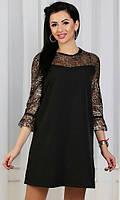 Платье Черное Зима 42,44, фото 1