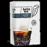 Чай Hello tea Black Earl grey  (1уп/20шт) Бергамот