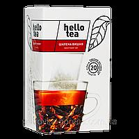Чай Hello tea Crazy cherry (1уп/20шт) Вишня