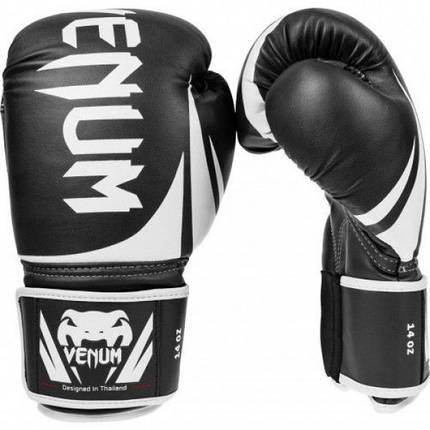 Боксерские перчатки Venum Challenger 2.0 Boxing Gloves Black, фото 2