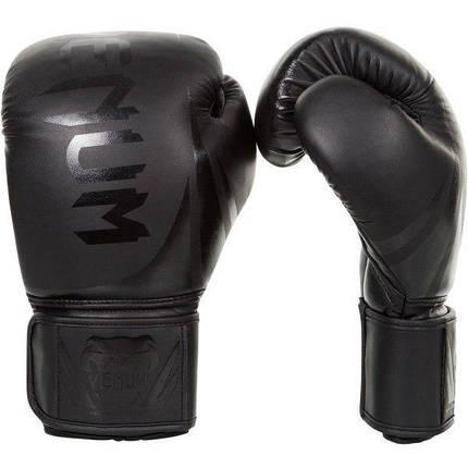 Боксерские перчатки Venum Challenger 2.0 Neo Black, фото 2