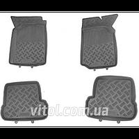 Коврики автомобильный 8820 GY Chery Amulet, серый, резина, в комплекте 4 шт, коврики в салон для Chery, автомобильные коврики, автоковрик, ковры