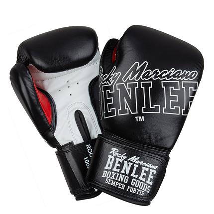 Боксерские перчатки BENLEE ROCKLAND (blk/white), фото 2
