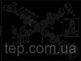 Запасні частини для рідкопаливним ( дизельної ) пальники Ecoflam MAX1 потужністю до 40кВт