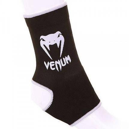 Голеностопы Venum Ankle Support Guard (черный), фото 2