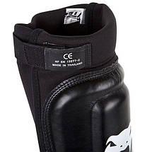 Защита голеностопа Venum 360 MMA Shinguards Black, фото 3