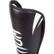 Защита голеностопа Venum Challenger Standup Shinguards Black, фото 3