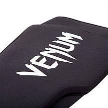Защита голеностопа Venum Kontact Evo Shinguards Black, фото 3